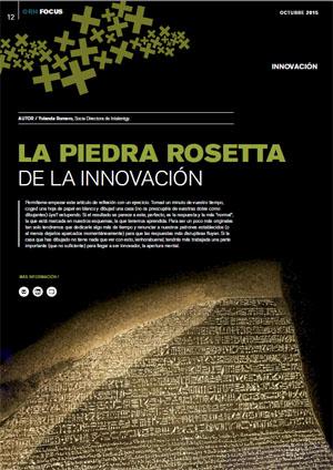 la piedra rosetta de la innovación