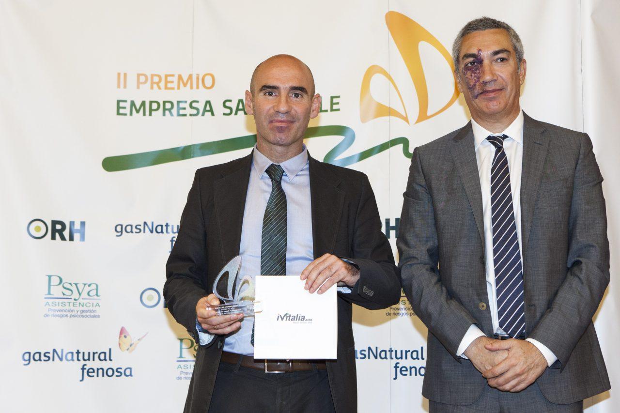 Mejor gestión de Riesgos Psicosociales Hospital Universitario Príncipe de Asturias y Dirección Asistencial Este