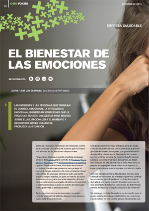el bienestar de las emociones