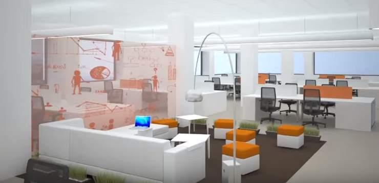 Lugares de trabajo abiertos y accesibles que mejoren la productividad e incentiven la comunicación