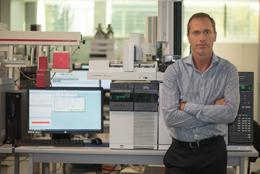 Carlos Llorca, director de I+D de Eurofragance
