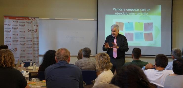 Simon Dolan ha sido el protagonista del V Workshop Internacional de AECOP.