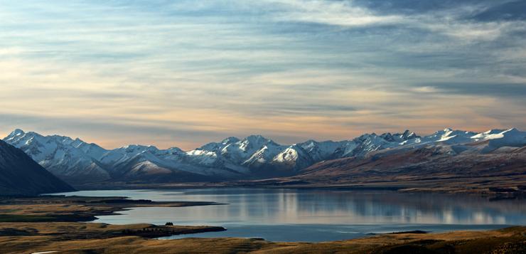 Lago Tekapo, Nueva Zelanda