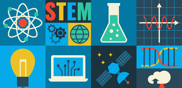 47336400 - illustration of stem education in apply science concept