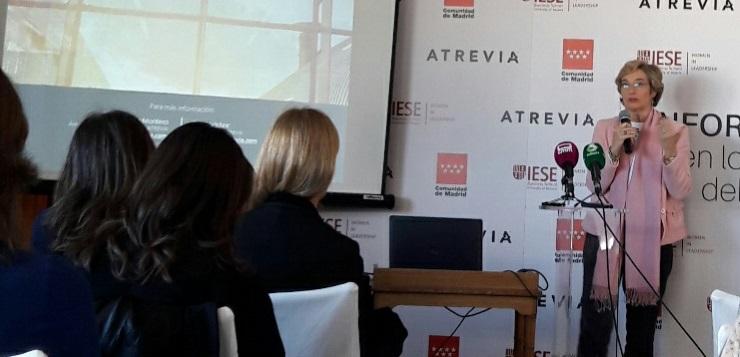 Nuria Chinchilla, profesora del IESE y Directora del Centro Internacional I-WILL.