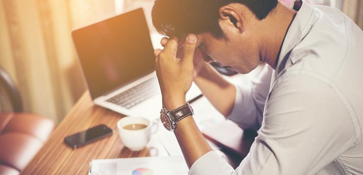 problemas de salud por estres laboral