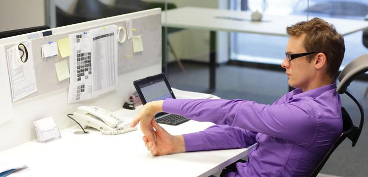 El 42% de los profesionales reconoce no poder ser completamente productivo en el trabajo
