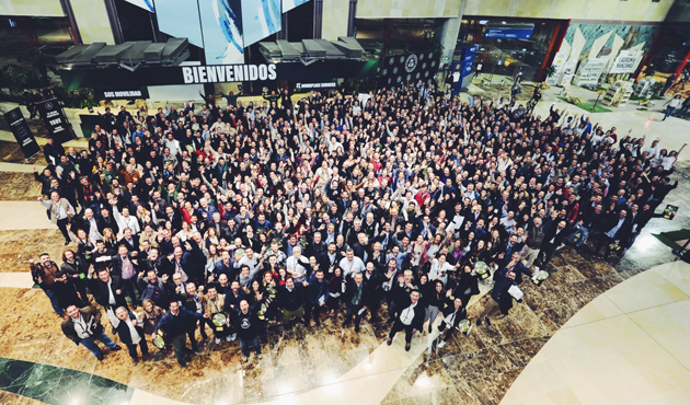 Foto convención Málaga HEINEKEN