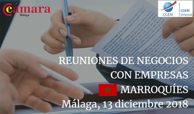 Misión Comercial Inversa Marruecos
