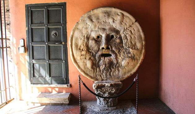 The Mouth of Truth (Bocca della Verita), Church of Santa Maria i