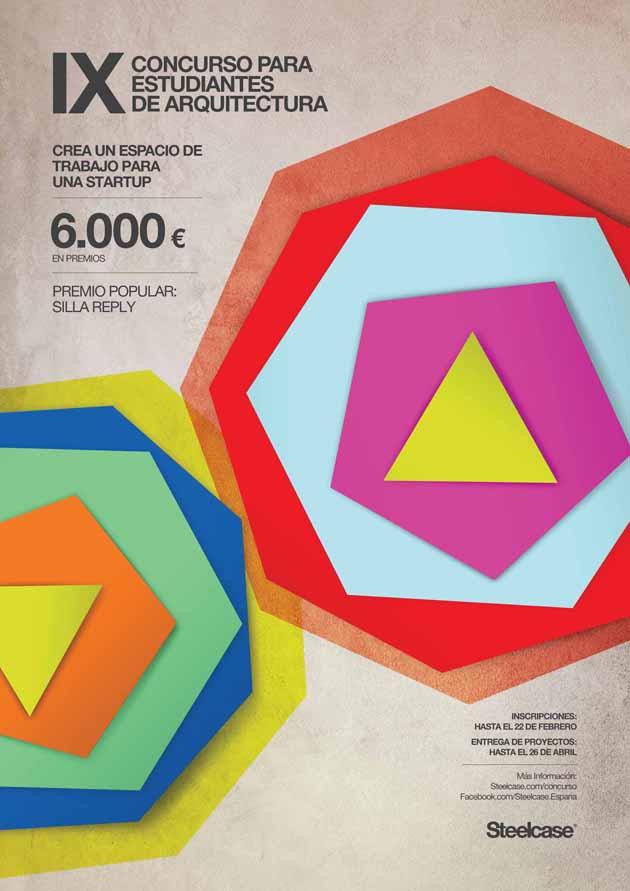 Cartel IX Concurso Arquitectura fuera
