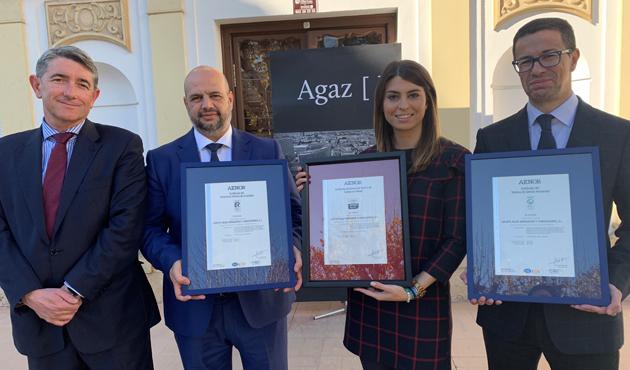 Agaz, primer despacho de abogados andaluz con certificación AENOR de Compliance Penal