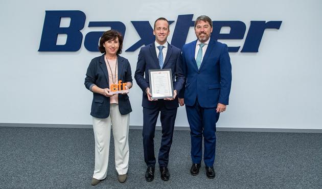 Entrega EFR Baxter