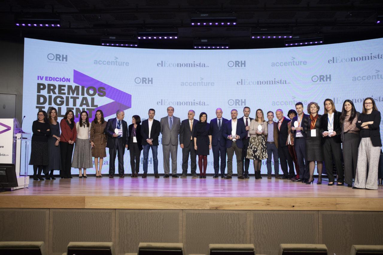 PREMIOS DIGITAL TALENT 2020 Foto: ALBERTO MARTIN ESCUDERO